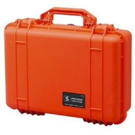 Pelican™  Case 1500 with Foam Insert – Orange
